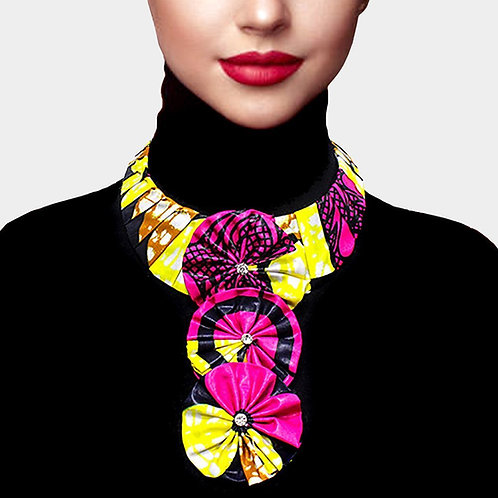Tribal Print Necklace