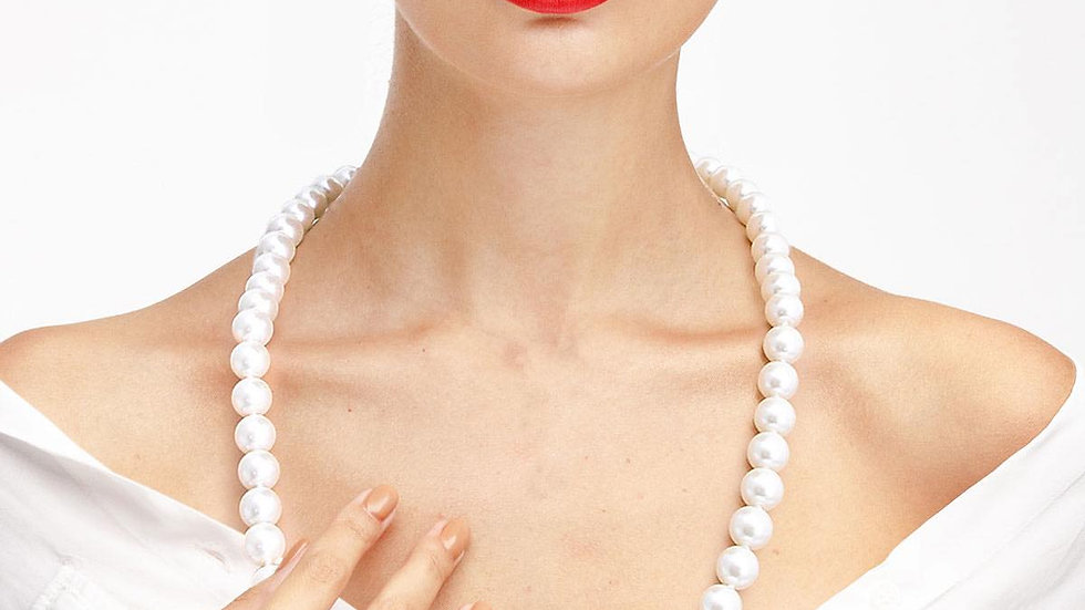 String Pearl Necklace
