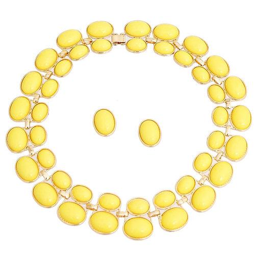 Hello Yellow Necklace Set
