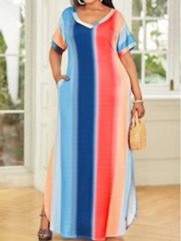 Blue Sunrise Dress