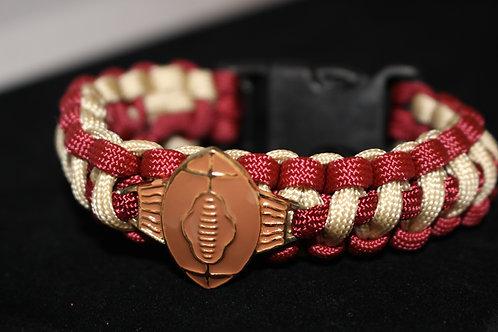 Football Braided Bracelet