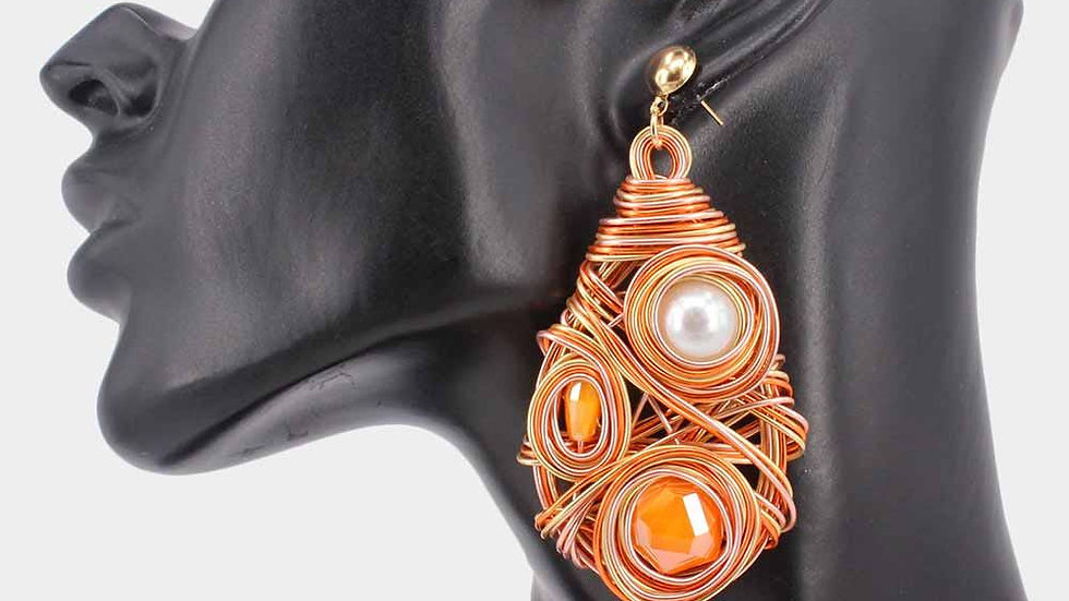 Hypnotized Pearl Earrings