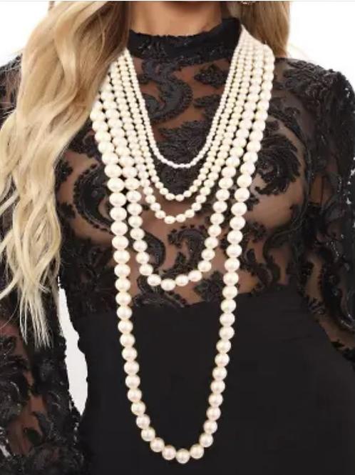 5 layered Pearl set