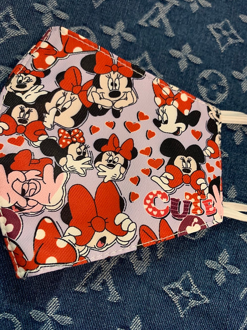 Cute Minnie Inspired Mask