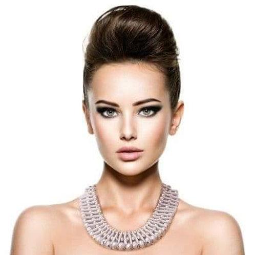 Elegant Silver Necklace Set