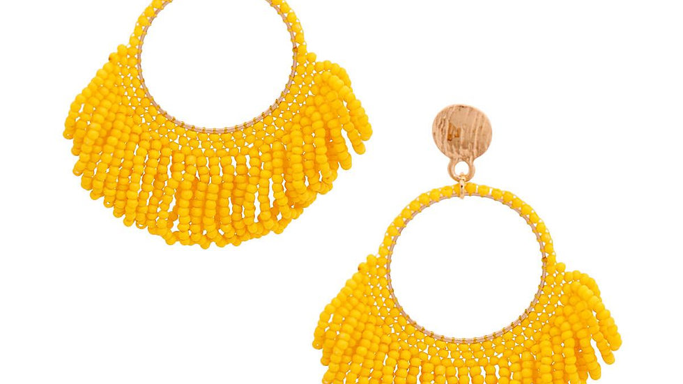 Beaded FringeEarrings