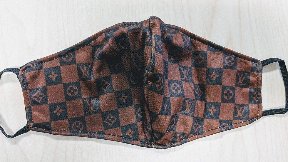 LV Checkered Mask