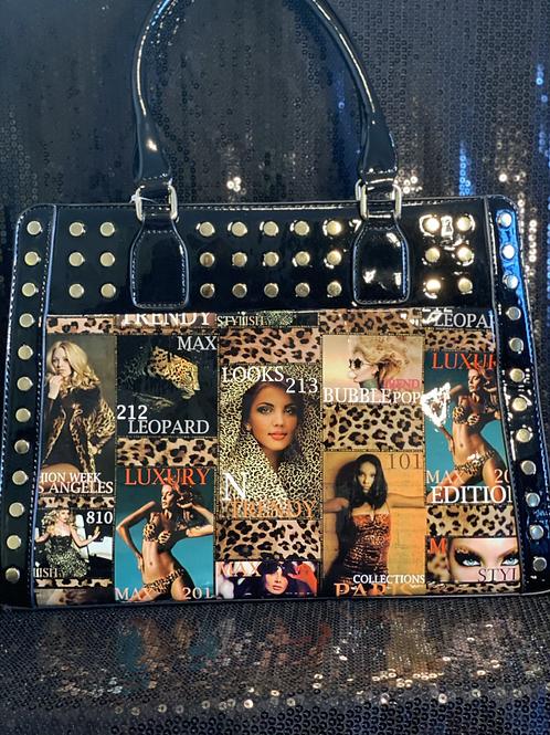 Magazine Cover Handbag