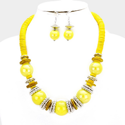 Sunshine Necklace set