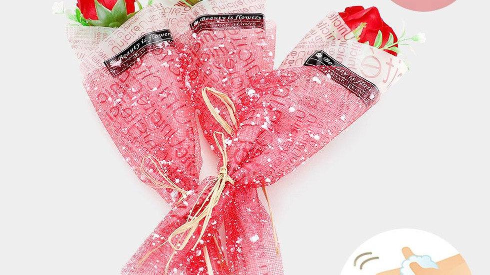 Single Rose Hand Soap