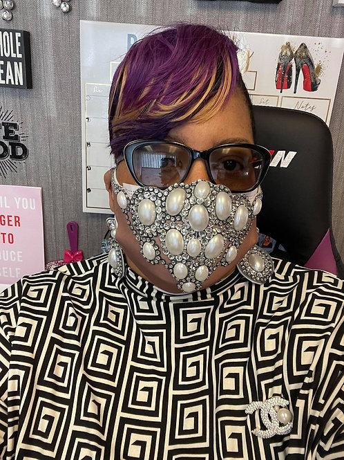Queen Pearl Mask
