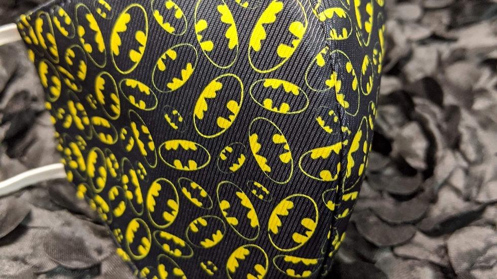 Batman Print Face Mask
