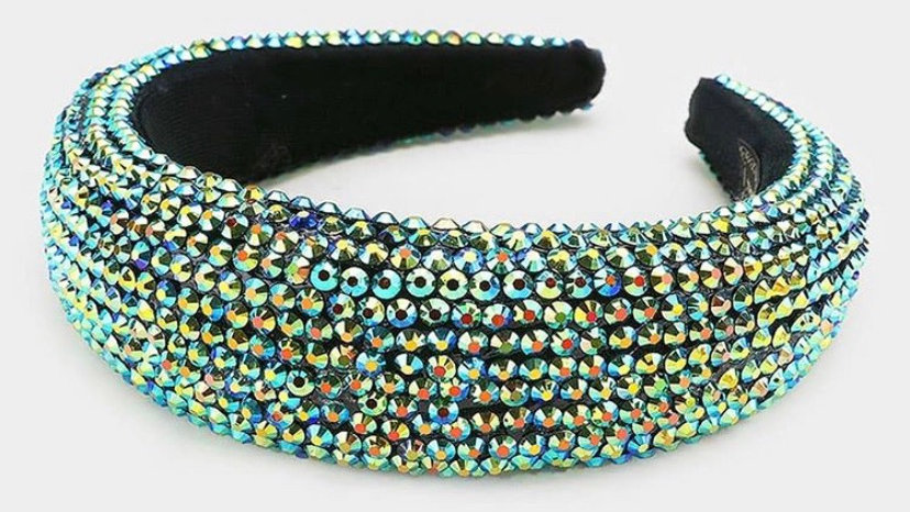 Sage Jeweled Headband