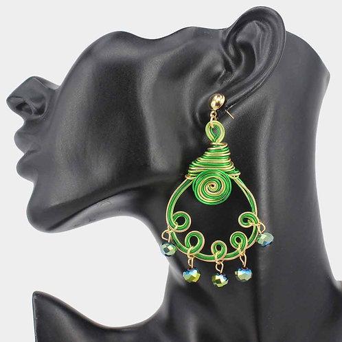 Jeweled Hypnotized Earrings