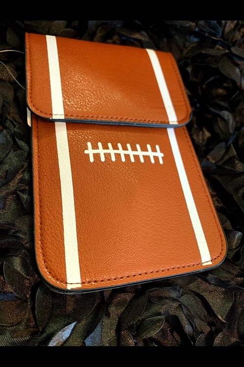 Football crossbody Purse / cell phone case