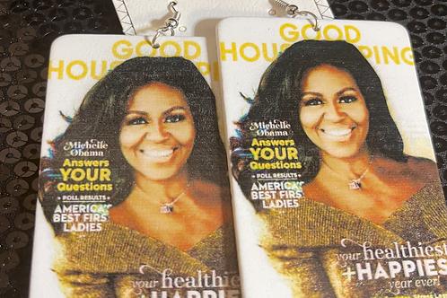 Michelle Obama Earrings