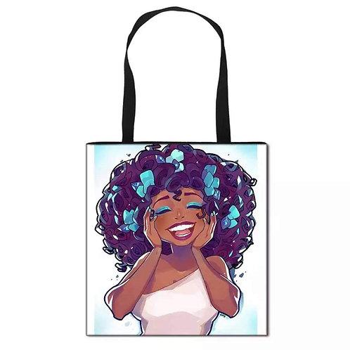 Black Girl Joy Tote Bag