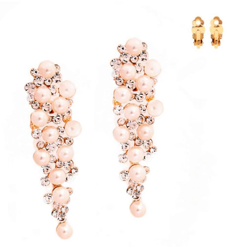 Dazzle Pop Pearl Clip-Ons
