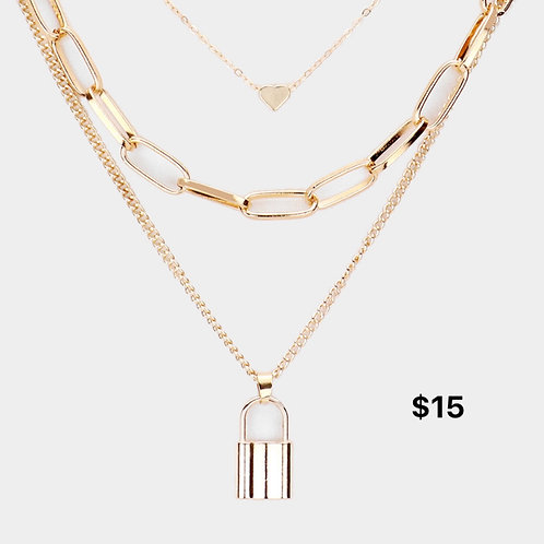 """""""On Lock"""" Necklace"""