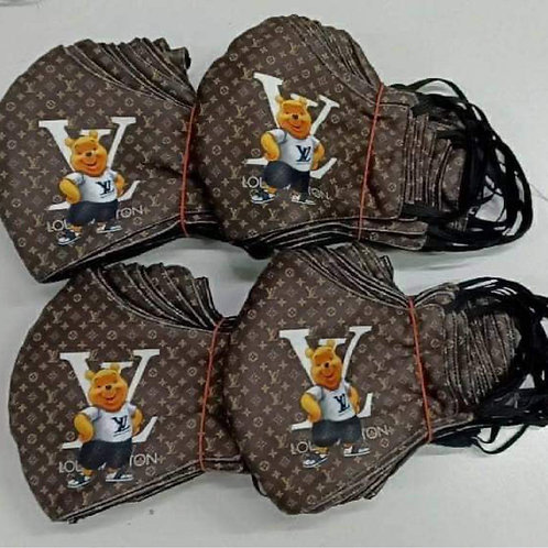 Winnie The Pooh LV Inspired Mask