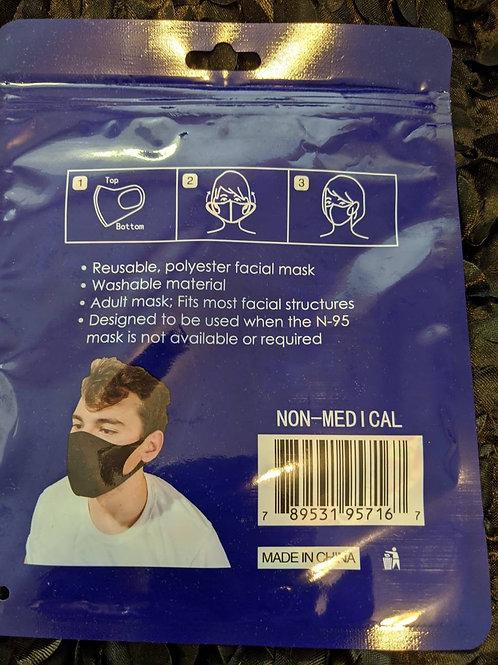 Black 3D Mask