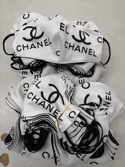 Black & White Chanel Inspired Mask