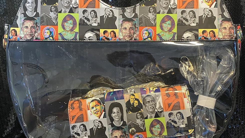 Obama's Oval Handbag with Crossbody Bag
