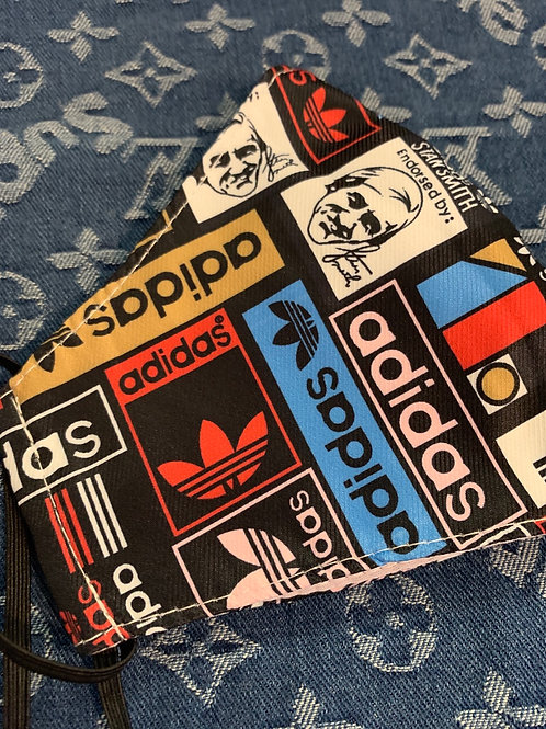 Stan Smith Adidas Inspired Mask