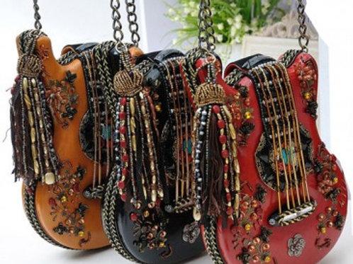 Handmade Guitar Crossbody Bag