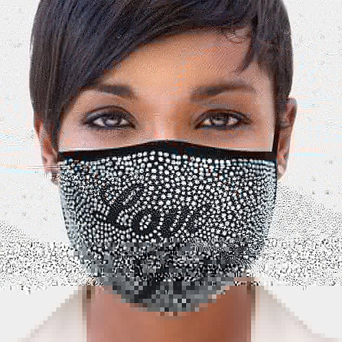 Love You Bling Mask