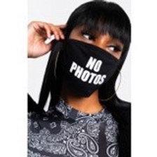 """""""No Photos"""" Mask"""