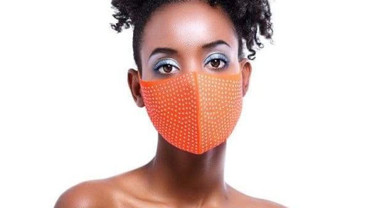 Jeweled Face Cover