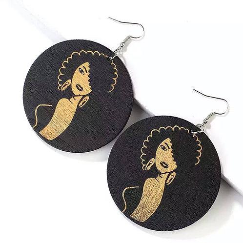 Showstopper Wooden Earrings