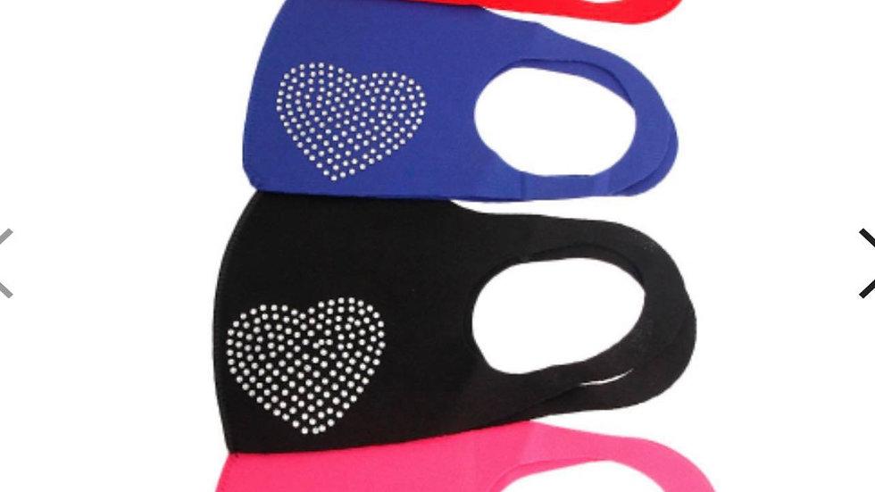 I Heart You Fashion Mask
