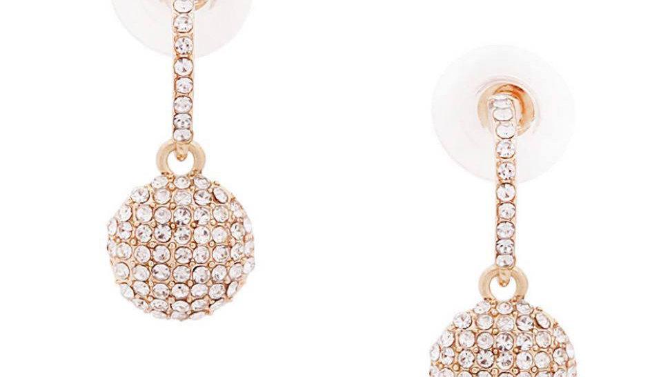Jeweled Classy Drop Earrings