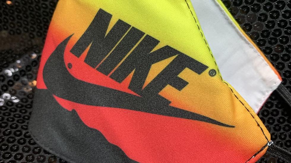 Sunset Nike Inspired Mask