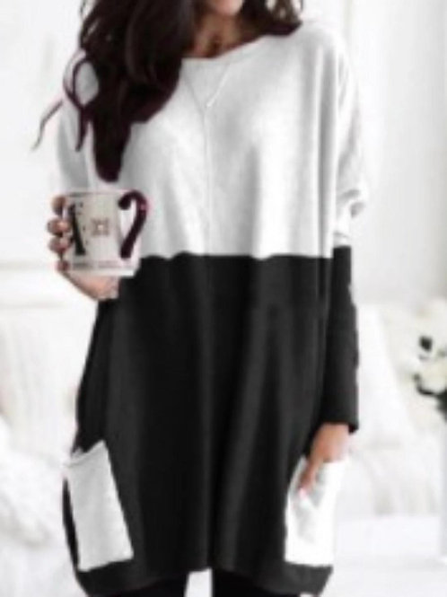 Color Blocked Tunic