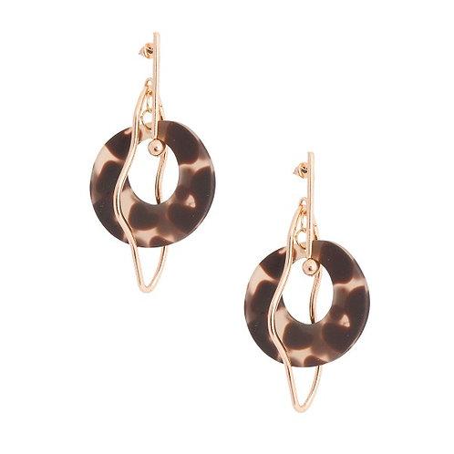 Round Rocket Earrings