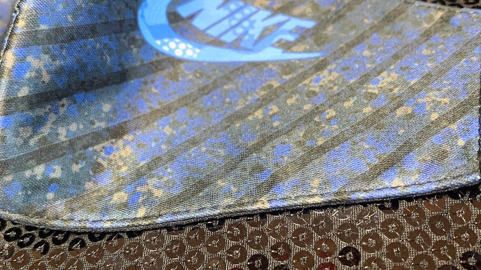 Blue Paint Splash Nike Inspired Face Cover
