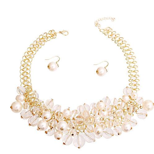Crystalline Necklace Set