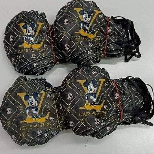 Mickey LV Inspired Mask