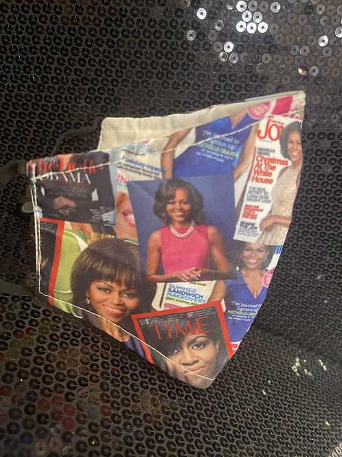 Michelle Obama Face Mask