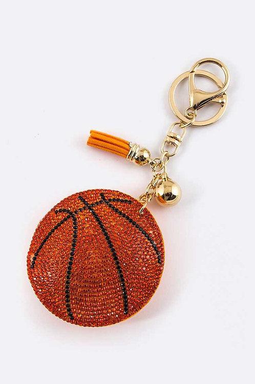 Basketball Key Charm