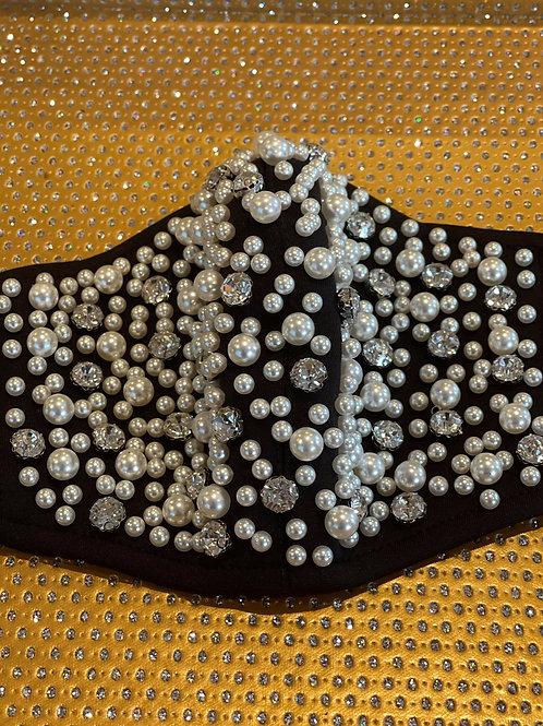 Pearly Jeweled Mask