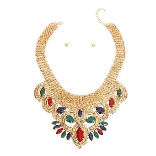Jeweled Necklace Set