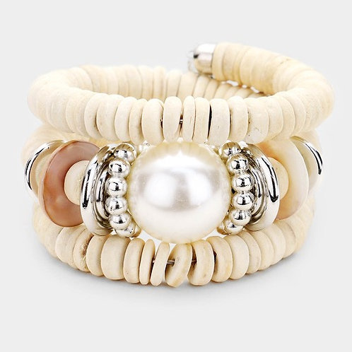 Eye of the storm wrap bracelet