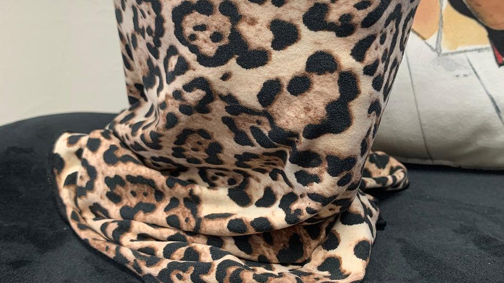 Cheetah Print Scarf/Mask