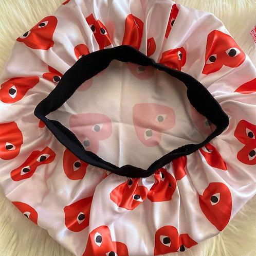 Converse Multi Heart Inspired Bonnet/Do Rag