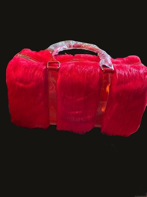 Furry Travel Bag