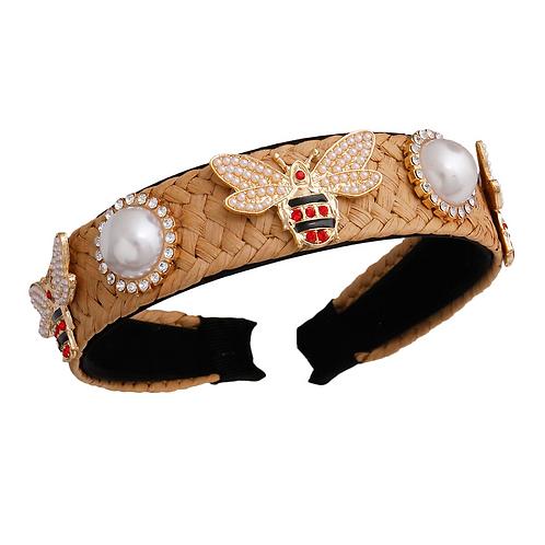 Pearl/Bee Headband